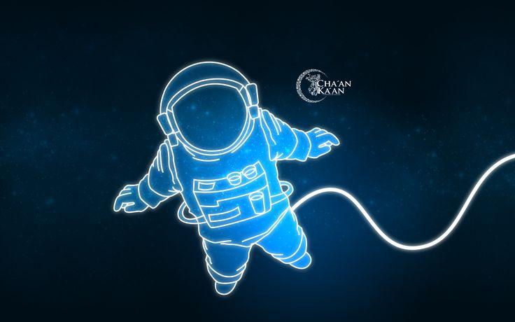 Fondo De Pantalla Abstracto Corriente De Cruces: Fondo De Pantalla. Astronauta.