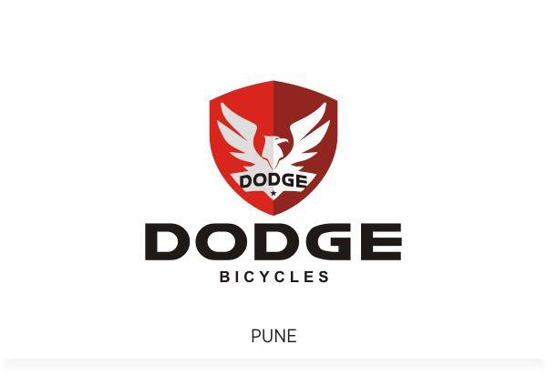 Dodge Bicycle Brand, Pune Logo Design by Fineline Graphics @ www.finelinelogo.com