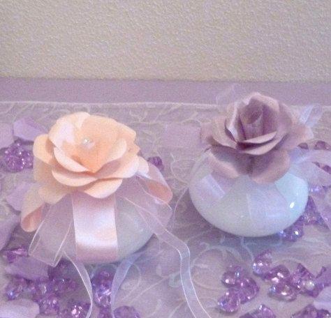 Wedding:  The flower wrist Miss Rose for the di Danipaperwedding
