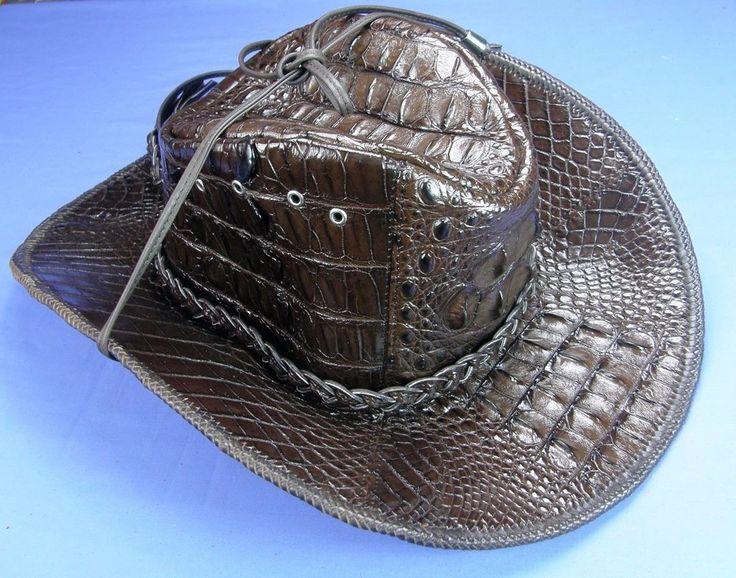 Genuine Unique Exclusive Alligator Crocodile Leather