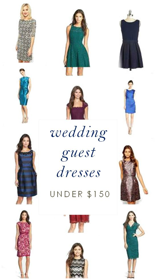 Wedding Guest Dresses Under $150. Dresses for a wedding guest don't have to cost a lot! These picks will take you to a wedding with style, and for less than 150 dollars.