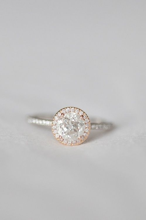 I think this defines my DREAM RING, delicate classic, feminine. SPARKLY! i love this!
