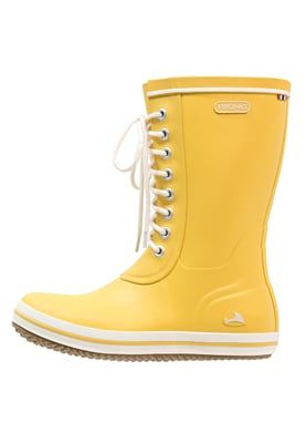RETRO LIGHT - Gummistiefel - yellow