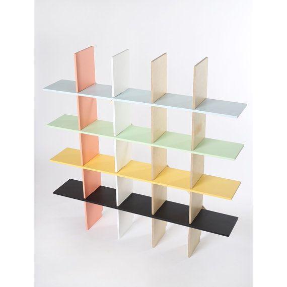 Kesselhaus plywood bookshelf by Kesselhaus on Etsy