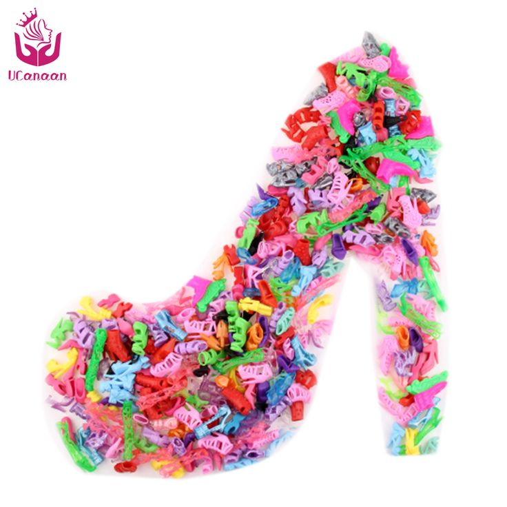 Free Shipping 10 Pair Fashion Colorful Accessories Shoes Heels Sandals For Babie Clothes Dress Doll Best Gift Girl Baby Toys