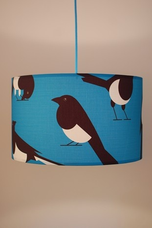 Marvelous Magpie Lampshade