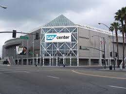 SAP Center.  San Jose, California.  Home of the San Jose Sharks