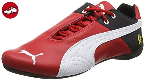 Puma Future Cat SF OG 305822 01 Herrenschuhe Leder Ferrari Sneaker, Rot (R CRSA-WHT-B 02R CRSA-WHT-B 02), 41 EU (7.5 UK) - Puma schuhe (*Partner-Link)