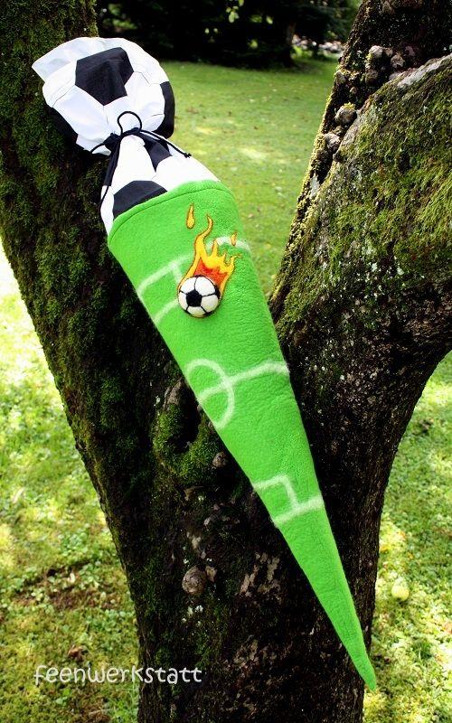 Feenwerkstatt: Fußball Schultüte