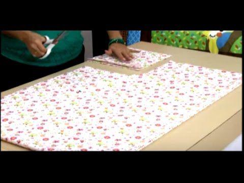 Como hacer sabanas para cuna. Sonia Franco. 3/4 - YouTube