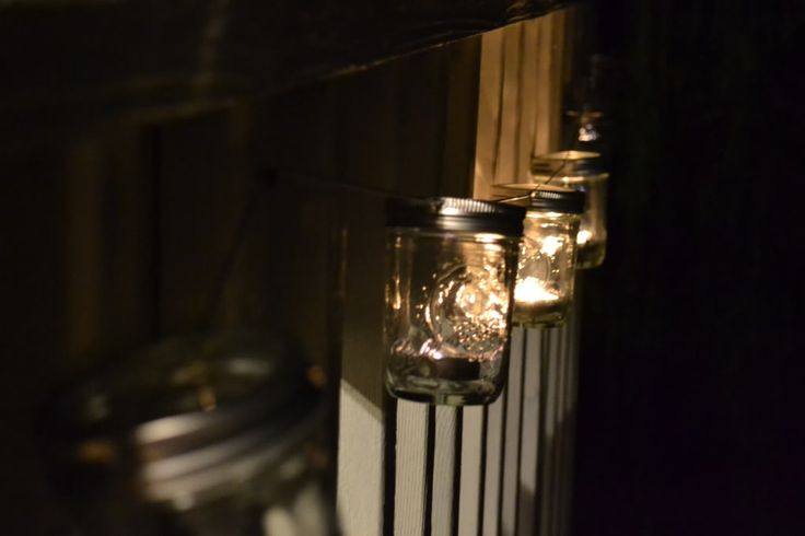 Simply Bold: DIY mason jar string lights Cool ideas Pinterest Jars, Creative and Masons