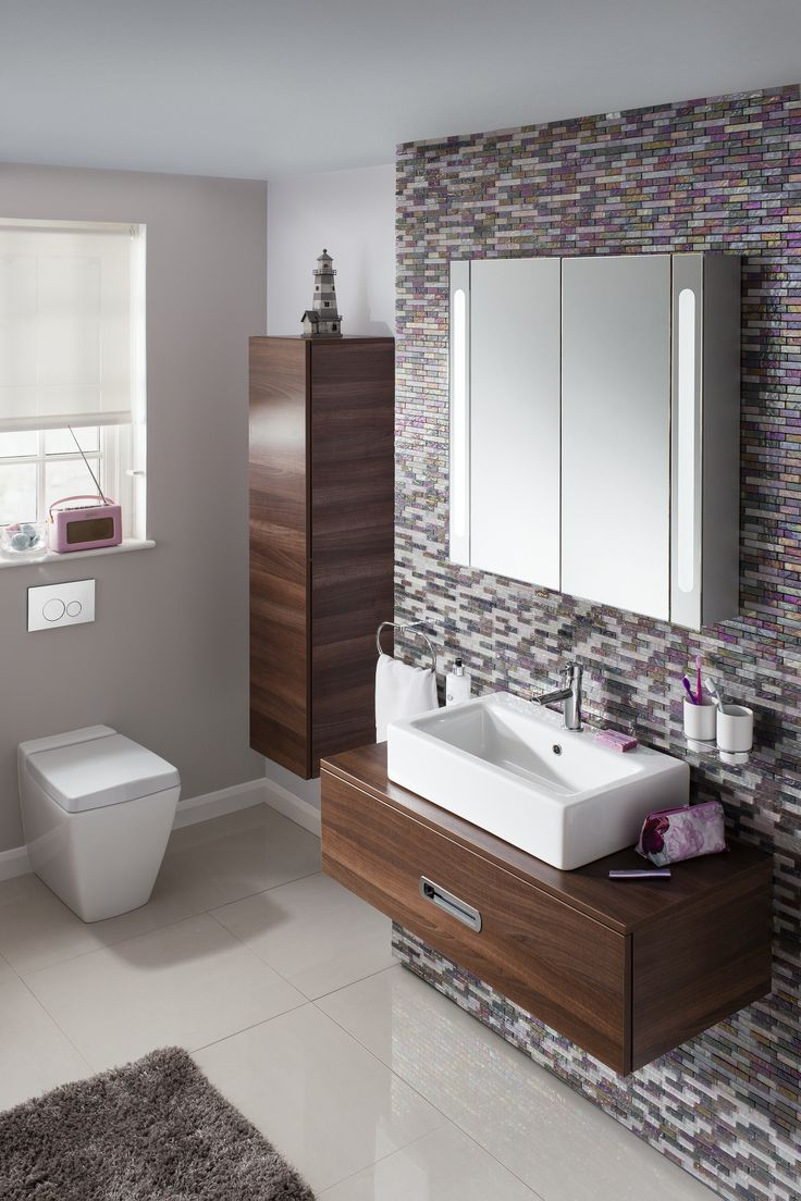 Walnut bathroom furniture uk - Seattle 80 Unit Walnut In Seattle Walnut Luxury Bathrooms