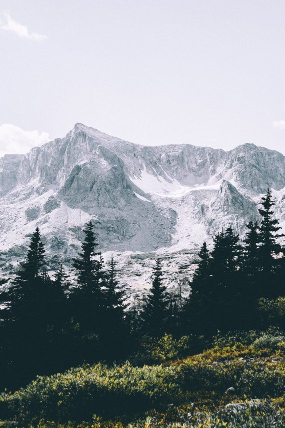 Mountains Print – Mountain Forest Photo – Mountain Photography – Nature Photography – Vertical – Mou