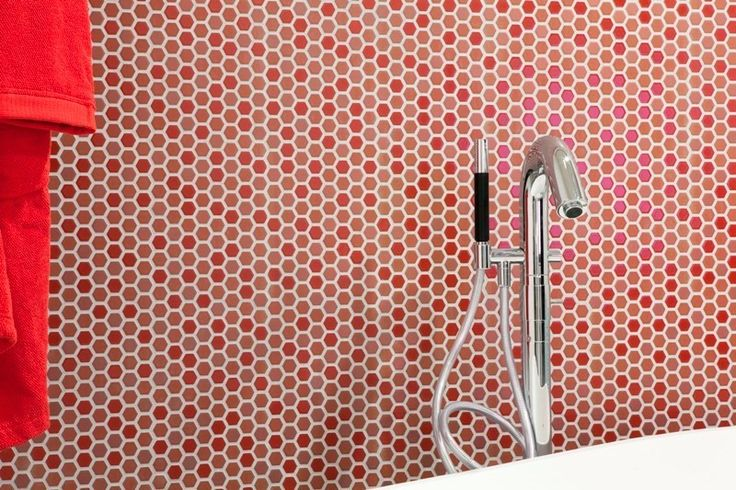 PERFECTION by Mosaiker Red  - Urban Edge Ceramics, Melbourne