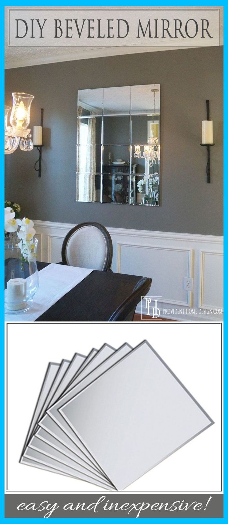 DIY Pottery Barn Brinkley Mirror Knockoff How To Make A