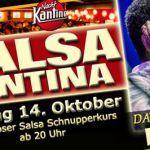 Salsa Cantina mit Liveband David Lenis & Orquesta in der NachtKantine    SALSA CANTINA mit Liveband  DAVID LENIS & ORQUESTA    Am Freitag den 22. Juli ist wieder PARTY mit LIVEMUSIK in der NachtKantine!  Zu Gast ist der charismatische kolumbianische Bandleader DAVID LENIS mit seinem Orchester! Sein von David Munoz produzierter Hit EL PIRULERO erobert gerade die weltweiten Tanzflächen und Itunes []  Mehr Salsa Bachata Kizomba Informationen auf salsastisch.de.