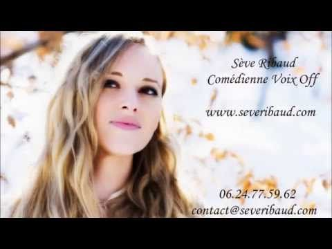 Comédienne voix off de la nouvelle génération. Empreint de mystère, d'audace & d'élégance >> comédienne voix off http://www.severibaud.com --> www.youtube.com/watch?v=AKSZNqSPLuY