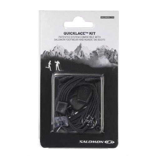 Oferta: 10€. Comprar Ofertas de Salomon Quicklace Kit - Cordones para zapatillas de correr y botas de esqui, negro barato. ¡Mira las ofertas!