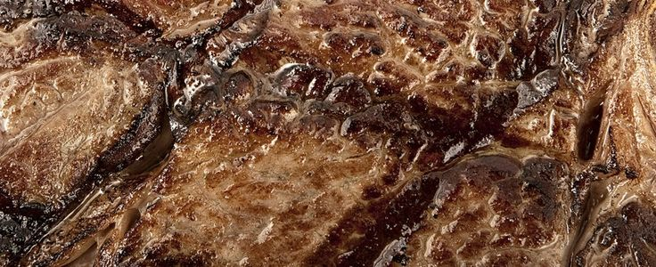 Grilled steak shows different levels of the Maillard reaction. From Modernist Cuisine.