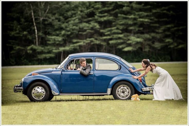 I will have a picture like this on my wedding day!!! Vw Loovvveee!!!