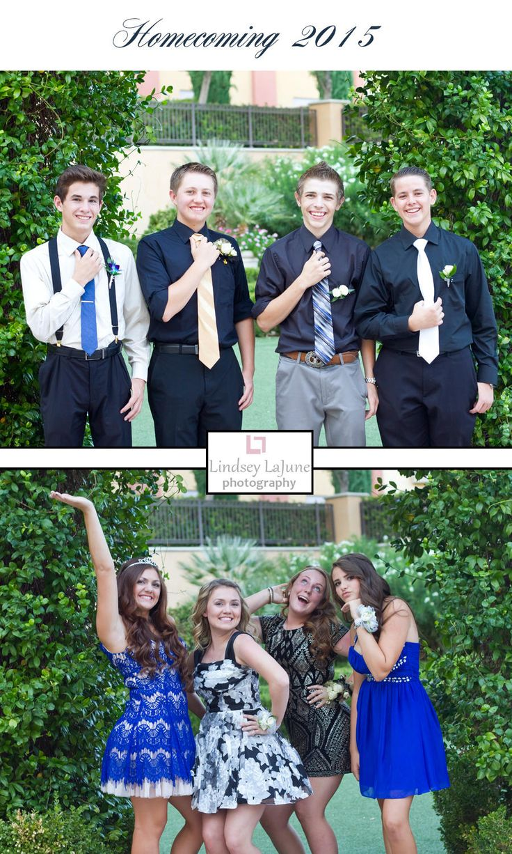 Lindsey LaJune Photography | Homecoming Group | Homecoming 2015 | Homecoming Pictures | Friends | Ladies and Gents | High School | High School Memories