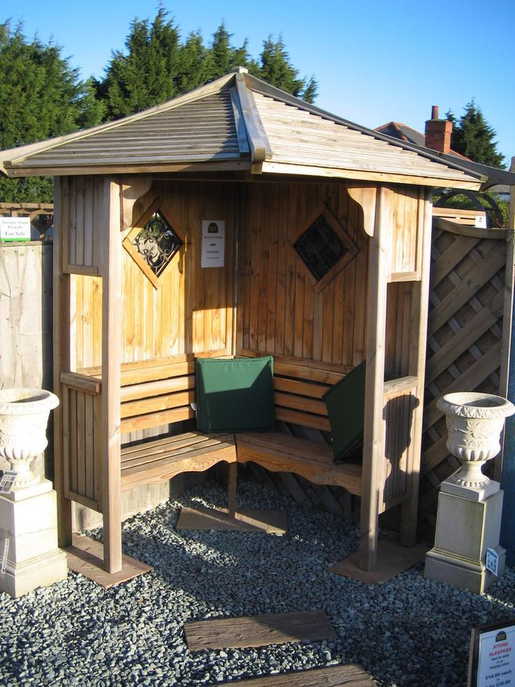 Corner Garden Arbour Seat Free Delivery And Assembly