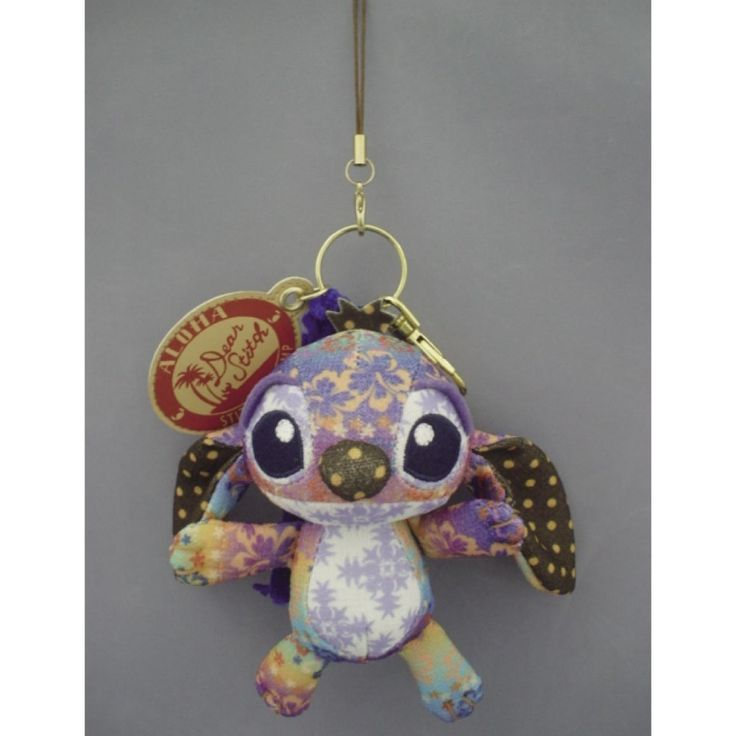 New Stitch Stuffed Animal Key Charm RARE Walt Disney Takara Tomy Arts | eBay