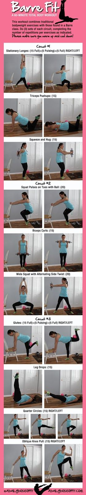 A Daily Dose of Fit: 60-Minute #Barre Workout #workoutwednesday