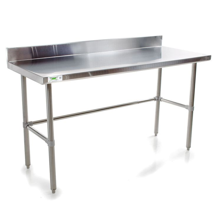 Awesome Kitchen Table Stainless Steel   Kitchen Decorating Ideas On A Budget Check  More At Http: