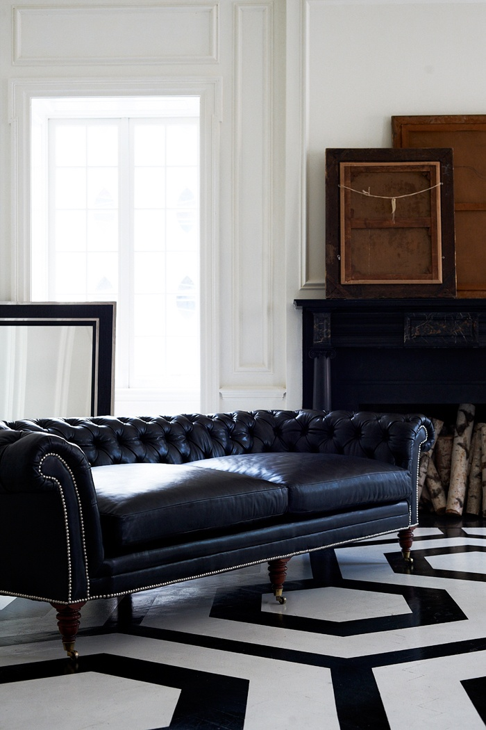 The Brook Street Tufted Sofa This Chesterfield Sofa Is Masculine In Style And Boasts Deep And