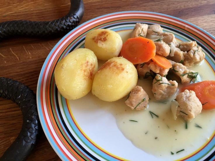 Vegetariskt Dillkött   Jävligt gott - vegetarisk mat och vegetariska recept för alla, lagad enkelt och jävligt gott.