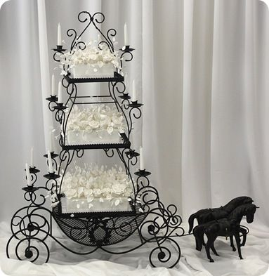 Gothic Wedding Cakes | ... lace wedding black and yellow centerpieces for wedding gothic black we