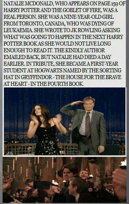 Thank you, JK Rowling, for your kindness.