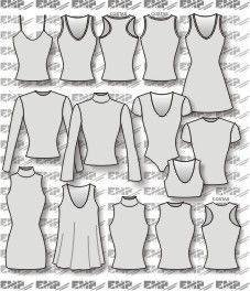 Moldes de blusas e vestidos de malha                                                                                                                                                                                 Mais