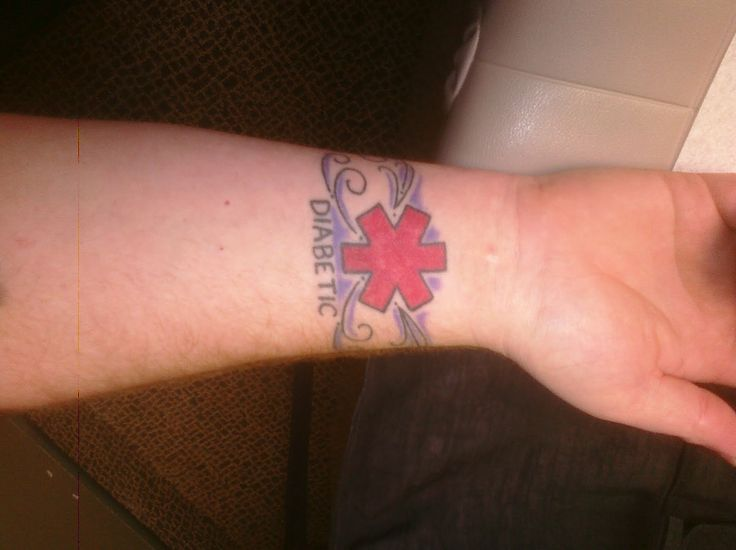 medical id tattoo tattoos pinterest. Black Bedroom Furniture Sets. Home Design Ideas