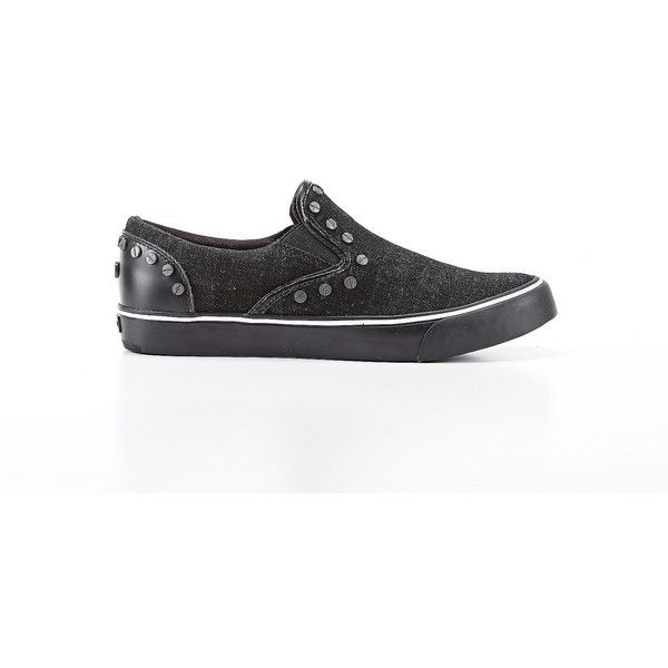 Diesel VANSIS W Casual Shoes (110 AUD) ❤ liked on Polyvore featuring shoes,  · Black ShoesBlack JeansSlip On ShoesSlip On SneakersShoes ...