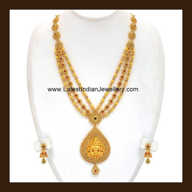 Uncut Diamond Lakshmi Haar