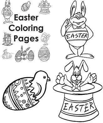easter coloring pages for teachers - photo#6