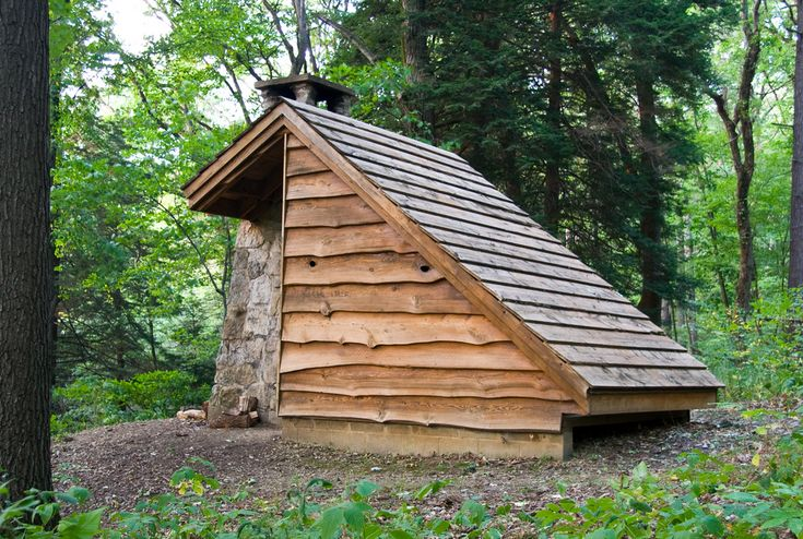 /// Adirondack shelter in Oil Creek State Park, Pennsylvania. Photographed by Jason Pratt.