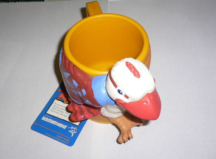2000 Olympic Games Sydney Mascot OLLY Plastic Coffee Cup/Mug with tags No1  | eBay