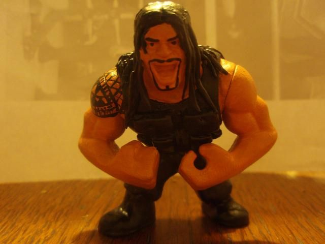 This is a thread of my custom WWE WCW Mattel Rumblers. I thought I would share some of my work and see what fellow fans thought. All my stuff is much more than a repaint all have been touched with