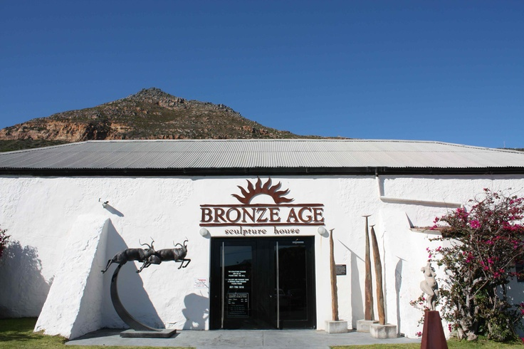 Bronze Age is situated in Simonstown, Western Cape in South Africa. What a wonderful place to work