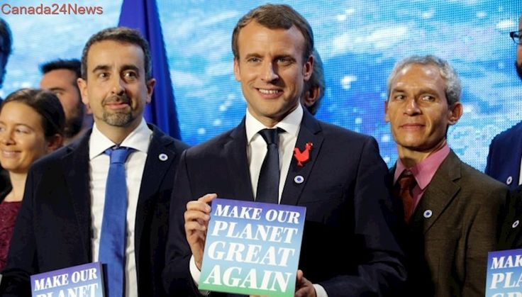 France awards U.S. climate scientists grants to 'Make Our Planet Great Again'