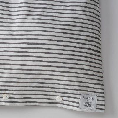Painterly Stripe Duvet Cover