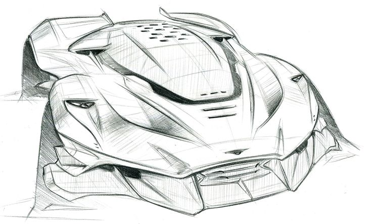 automotive_sketchbook on Behance