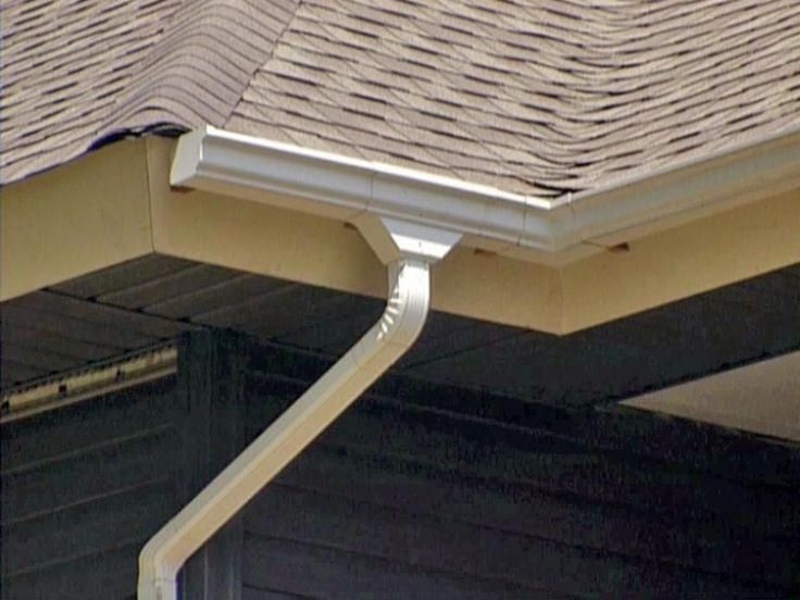 I Need This Awesome Photo Guttersinstalling Seamless Gutters Modern Roofing Home Inspection