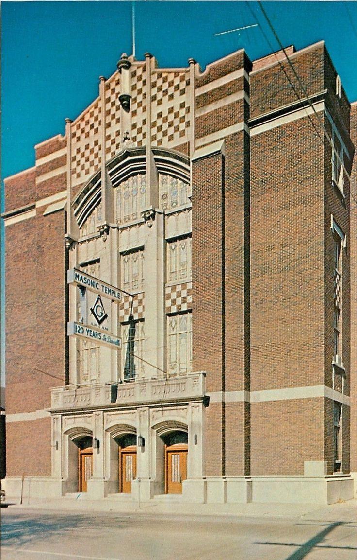 Danville, IL Masonic Temple Olive Branch; Anchor; and