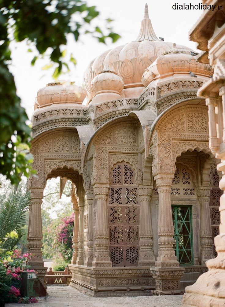 Mandore Garden, one of the famous #gardens of #India  #travel #tour #Package #dialaholiday — at Jodhpur, Rajasthan