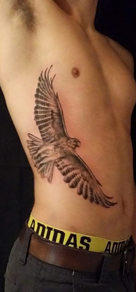 This on my back but smaller and with music notes in its wings would be great