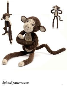 Crochet Monkey Free Pattern                                                                                                                                                                                 More
